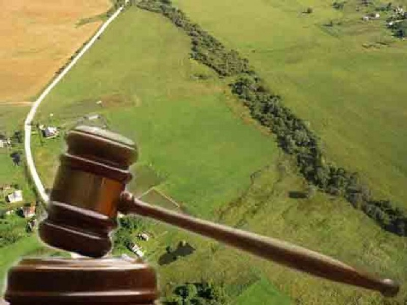 Частое мошенничество с земельными участками