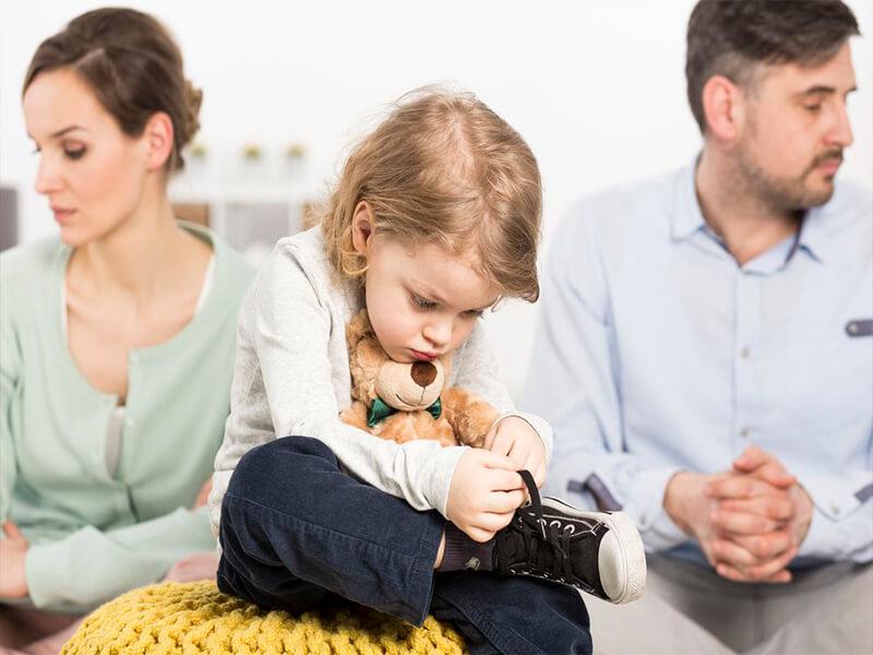 Имеют ли дети право на свою часть имущества при разводе родителей?