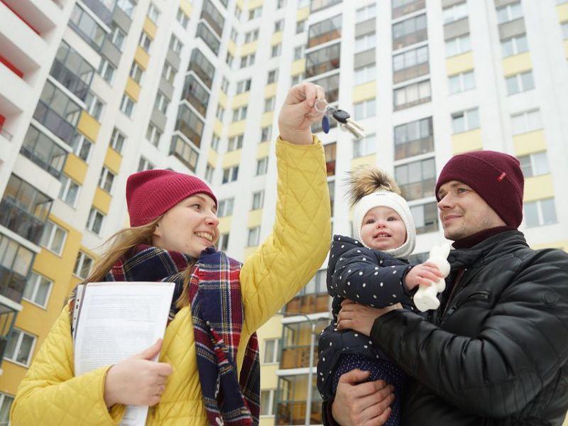 Ипотека станет проще для семей с 2 и более детьми