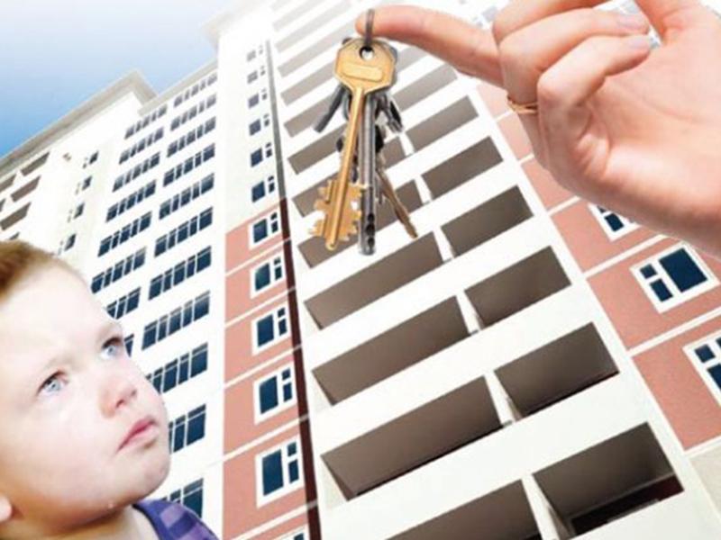 Ребенок остался без жилья из-за долгов родителей