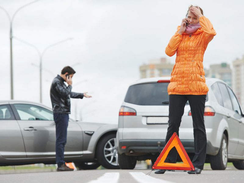 Поведение водителя при совершении ДТП