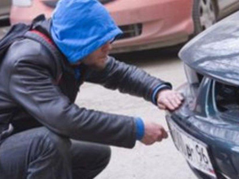 Украли номера с машины: что делать водителю?